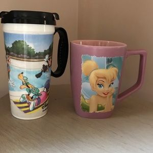 Pink Tinkerbell Coffee Mug and WDW Resort Mug